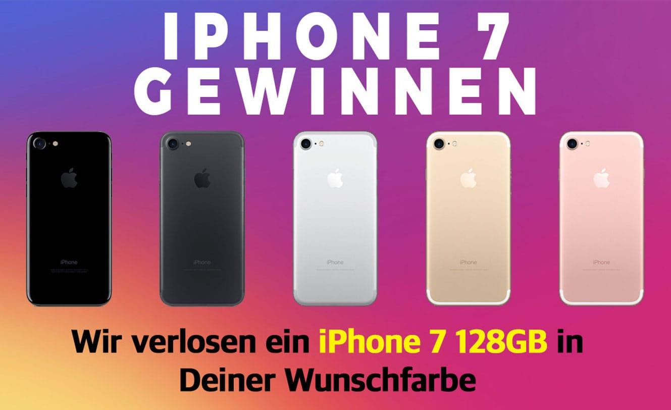 Gewinne ein iPhone 7