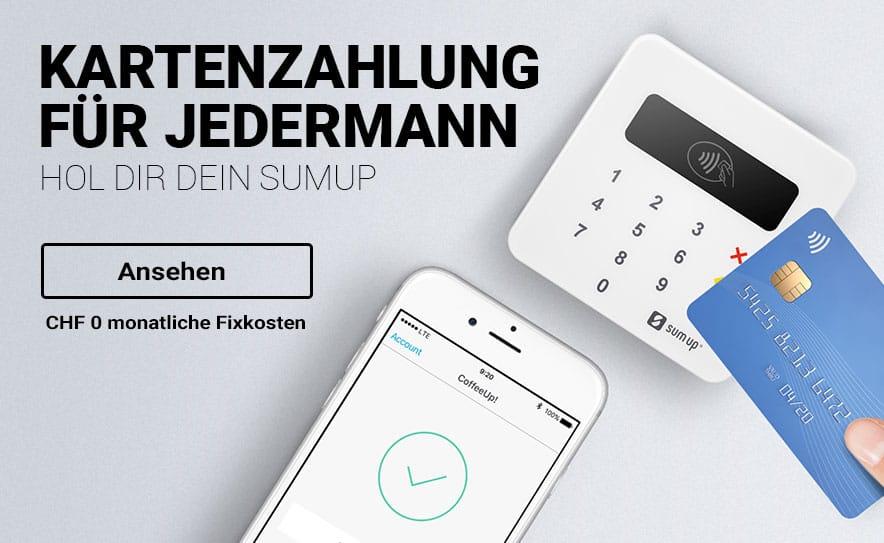 SumUp Karten Terminal online bestellen