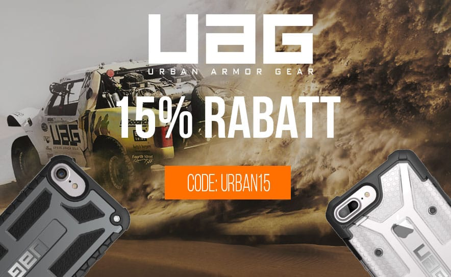 15% Rabatt auf Urban Armor Gear Cases