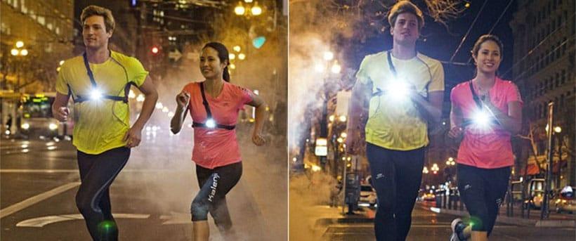 Running Light LED Brustlampe Lauflampe