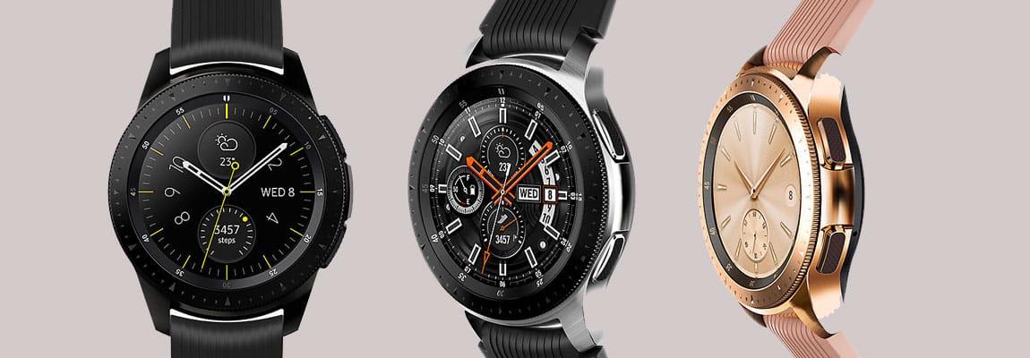 Samsung Galaxy Watch 46mm Zubehör Armbänder Ladegeräte Displayschutz