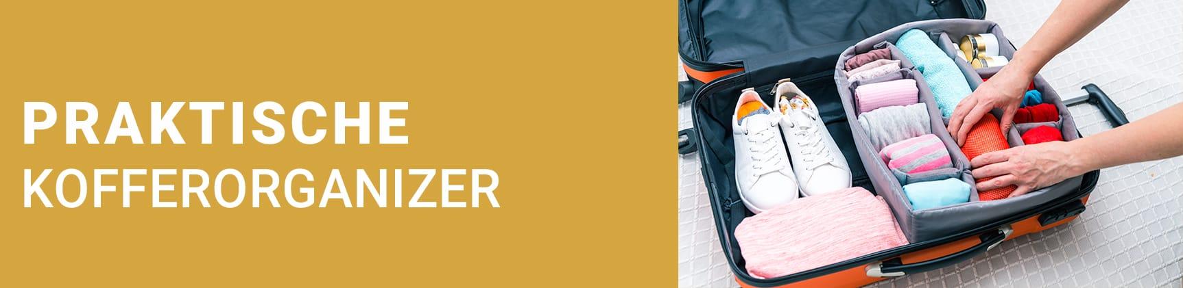 Ordnung in Deinem Koffer mit den praktischen Koffer Organizer