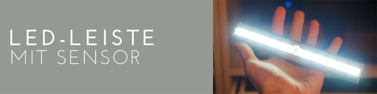 LED Leiste mit Bewegungssensor
