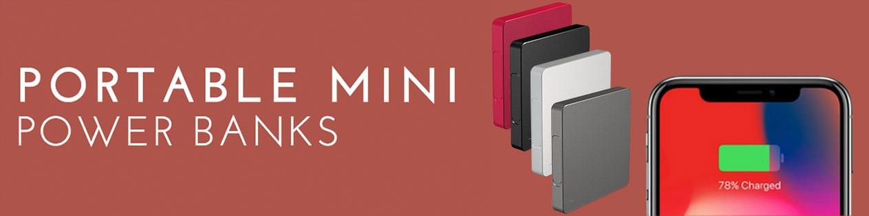 Portable Mini Power Banks für Unterwegs