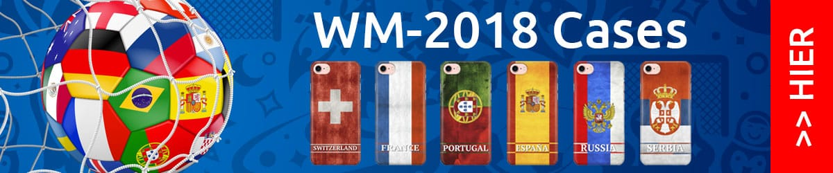 Handy Schutzhüllen zur Fussball Weltmeisterschaft 2018