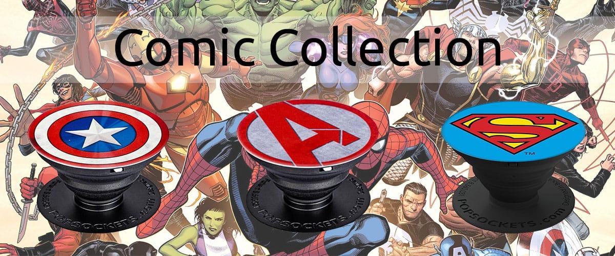 Comic Superhelden DC Marvel PopSockets online bestellen