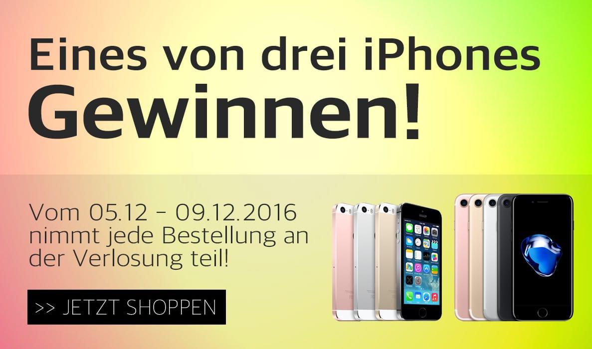 iPhones gewinnen