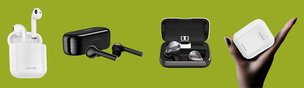 Bluetooth Kopfhörer Headset mit Ladecase online bestellen