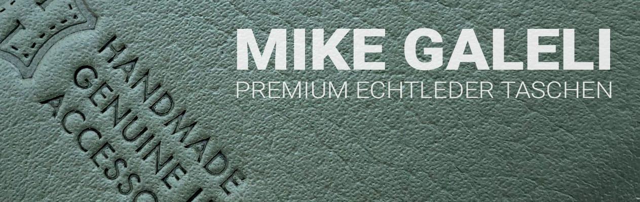 Mike Galeli Premium Echtleder Taschen