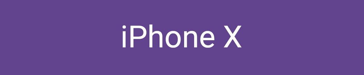 iPhone X Hüllen & Zubehör bestellen