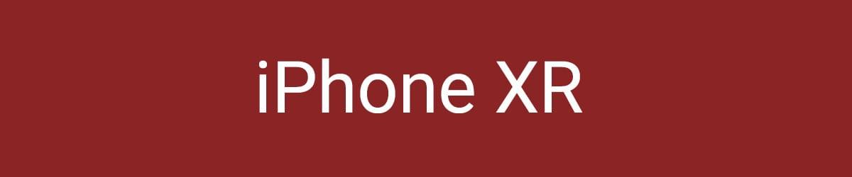 iPhone XR Hüllen & Zubehör bestellen