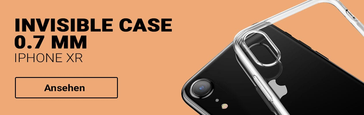 iPhone XR Baseus Invisible Case Schutzhülle bestellen