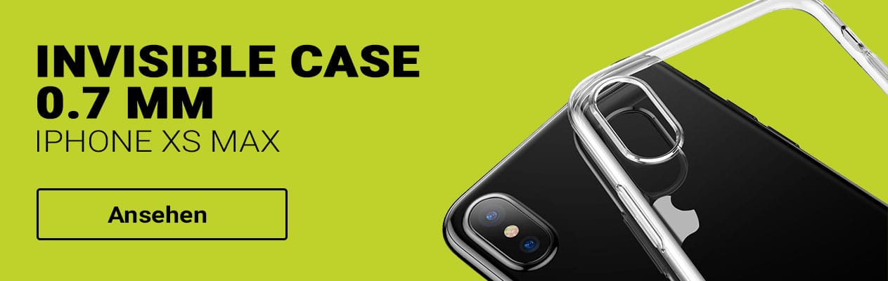 iPhone XS Max Baseus Invisible Case Schutzhülle bestellen