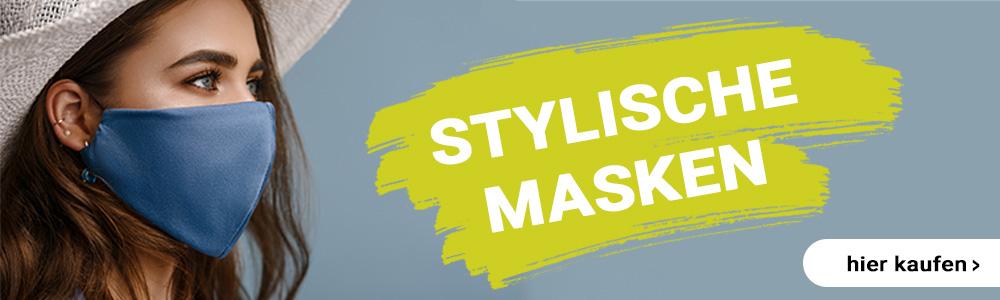 Stylische Masken hier bestellen