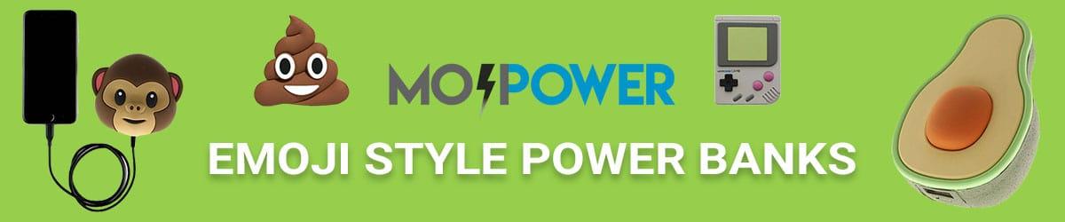 Mit unseren Mini Power Banks im Emoji Style geht Dir der Saft nicht mehr aus!