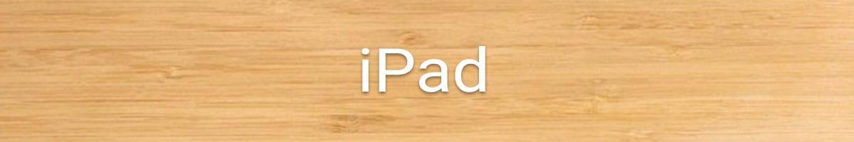 iPad Holzhüllen online kaufen