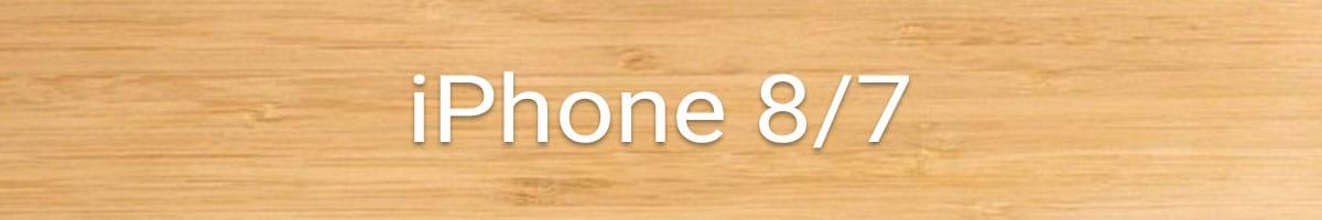 iPhone 8 / 7 Holzhülle bestellen