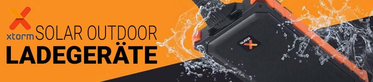 Lade Dein Smartphone & Tablet bei jedem Wetter mit den Solar Ladegeräten von XTORM
