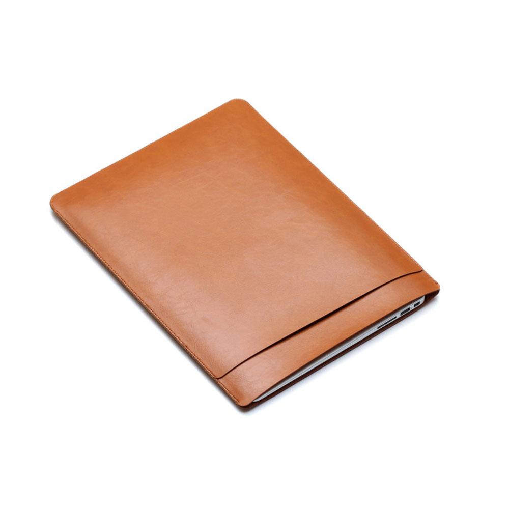 11 Zoll Notebook Leder Tasche Sleeve MacBook Air - Braun