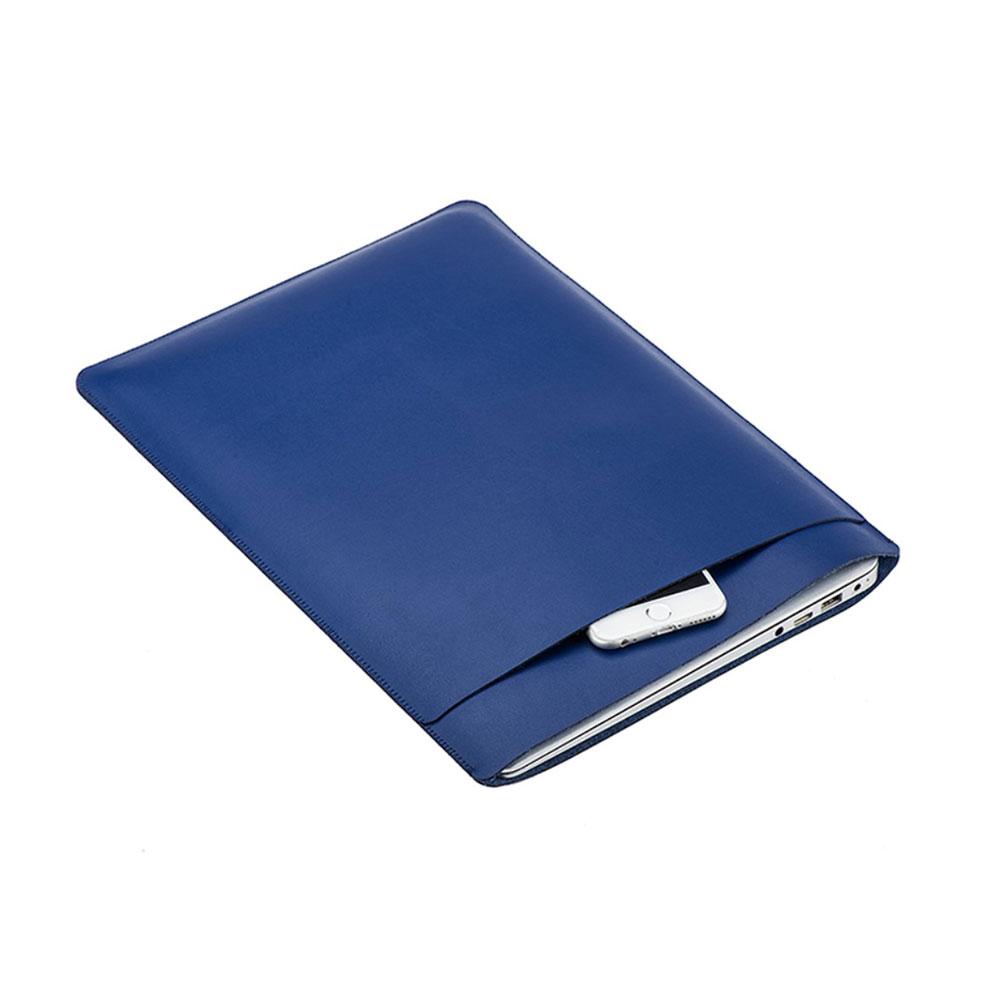 11 Zoll Notebook Leder Tasche Sleeve MacBook Air - Dunkelblau