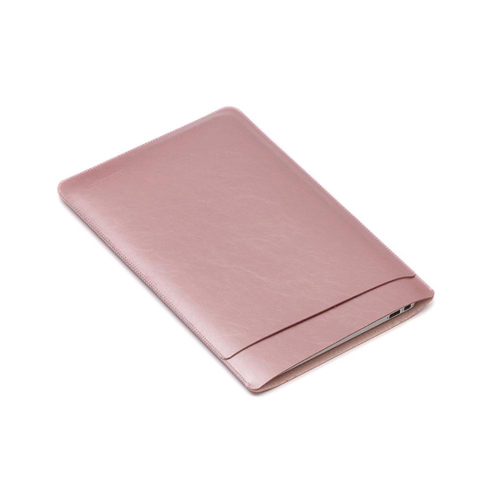 11 Zoll Notebook Leder Tasche Sleeve MacBook Air - Roségold