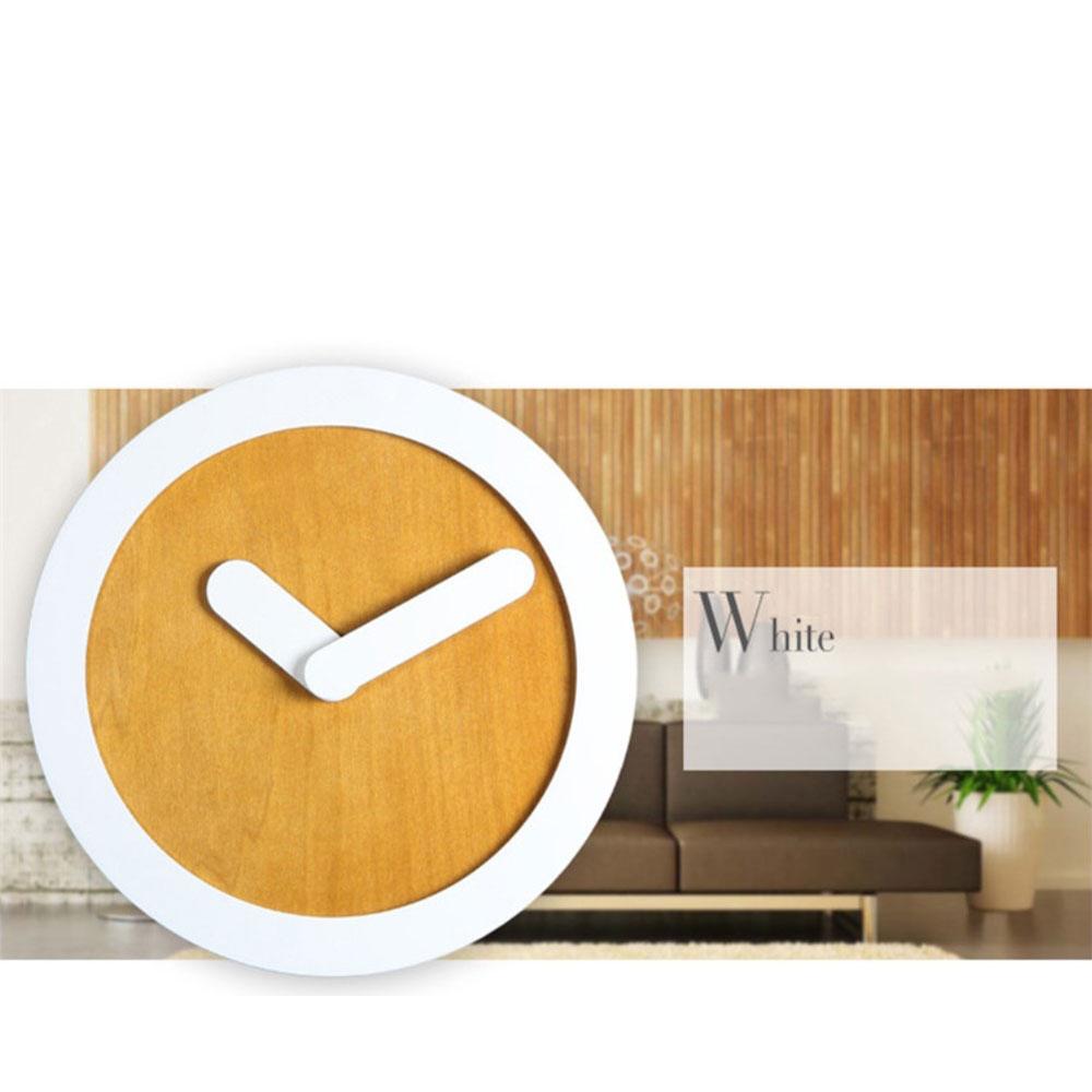wanduhr holz schlicht inspirierendes design f r wohnm bel. Black Bedroom Furniture Sets. Home Design Ideas