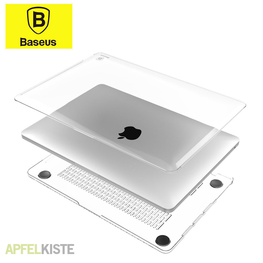 baseus macbook pro 2016 13 air case h lle clear. Black Bedroom Furniture Sets. Home Design Ideas