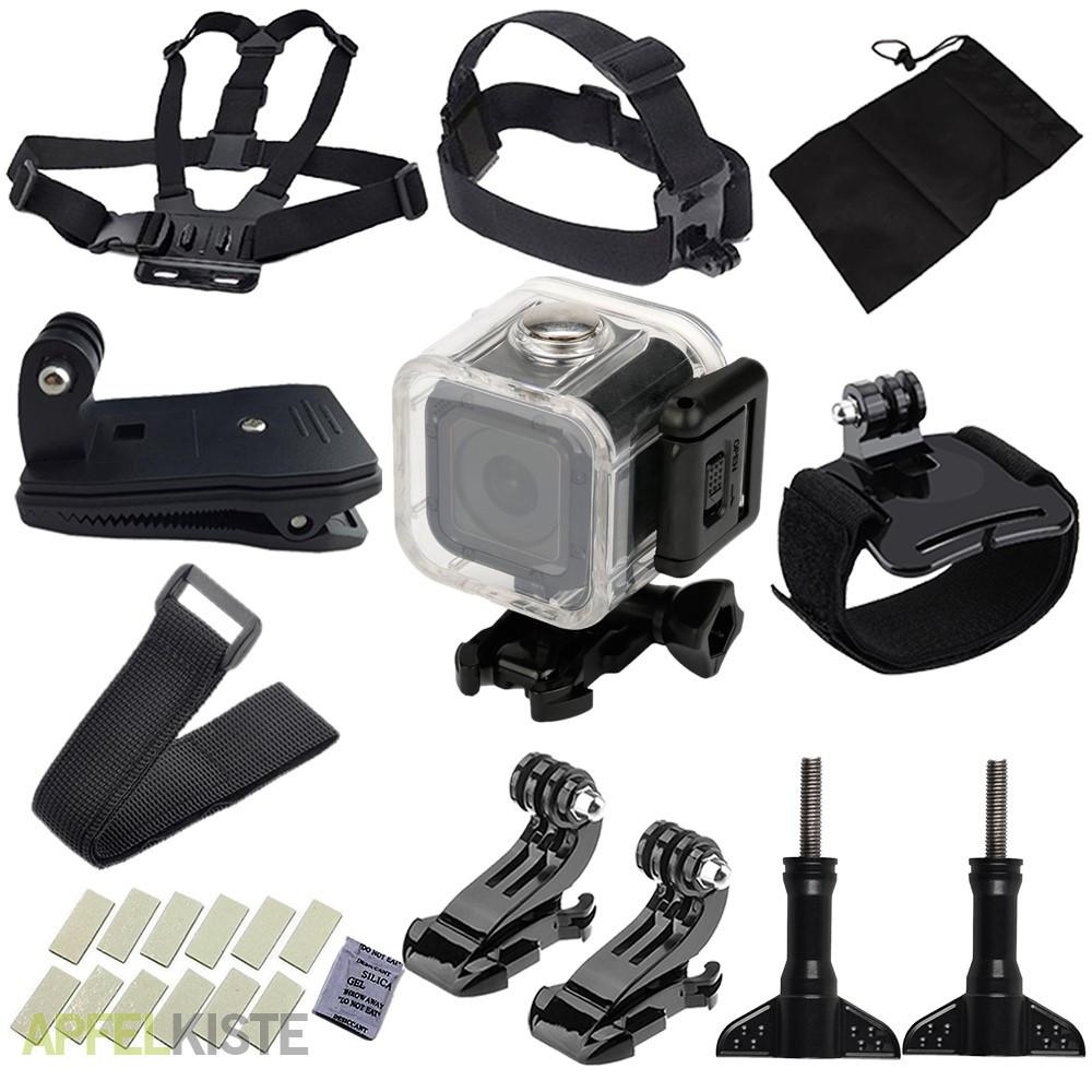 28in1 gopro hero 5 4 session kamera zubeh r set. Black Bedroom Furniture Sets. Home Design Ideas
