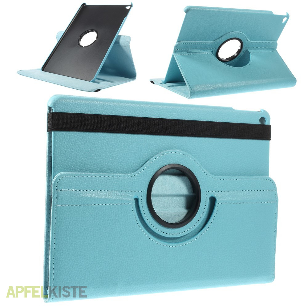 ipad air 2 case 360 grad drehfunktion hellblau. Black Bedroom Furniture Sets. Home Design Ideas