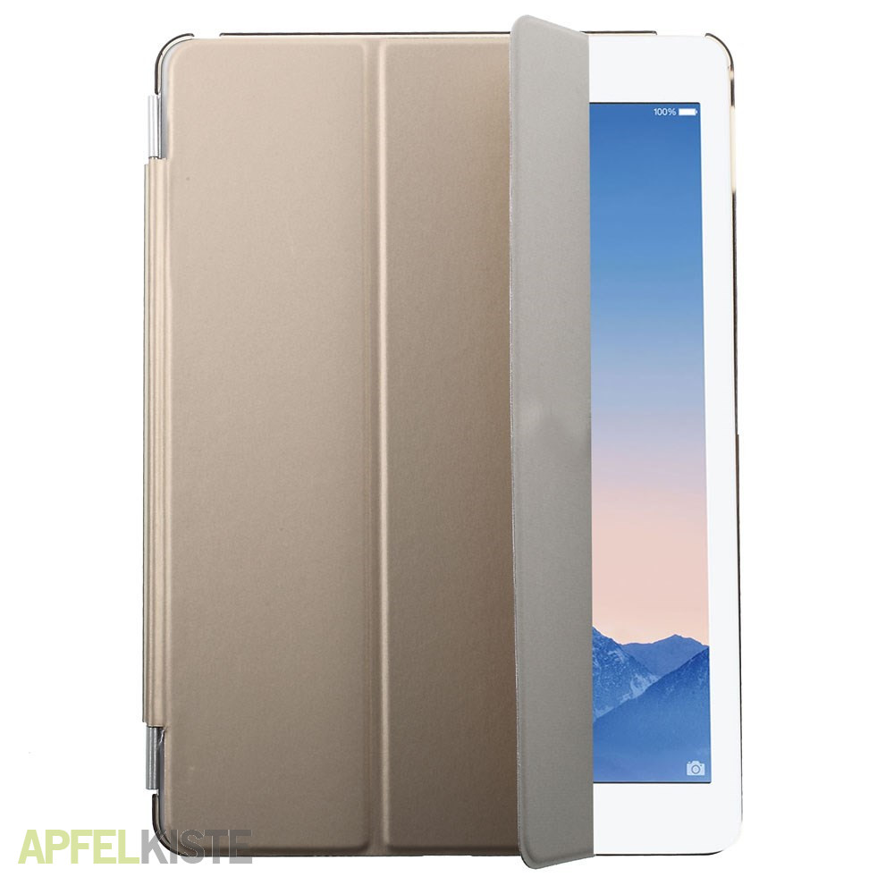 ipad air 2 front back smart cover h lle gold. Black Bedroom Furniture Sets. Home Design Ideas