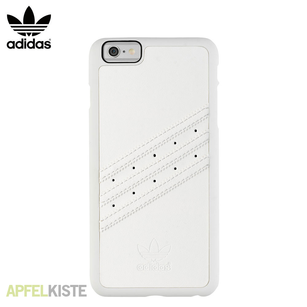 adidas iphone 6 6s plus h lle case moulded weiss. Black Bedroom Furniture Sets. Home Design Ideas