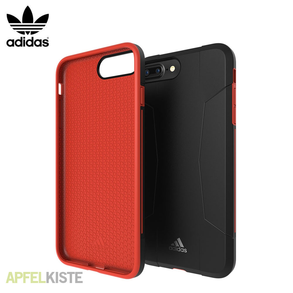 adidas iphone 6s 7 plus h lle sp solo schwarz rot. Black Bedroom Furniture Sets. Home Design Ideas