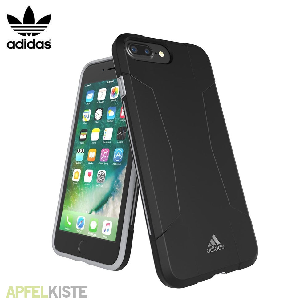 adidas iphone 6s 7 plus h lle sp solo schwarz. Black Bedroom Furniture Sets. Home Design Ideas