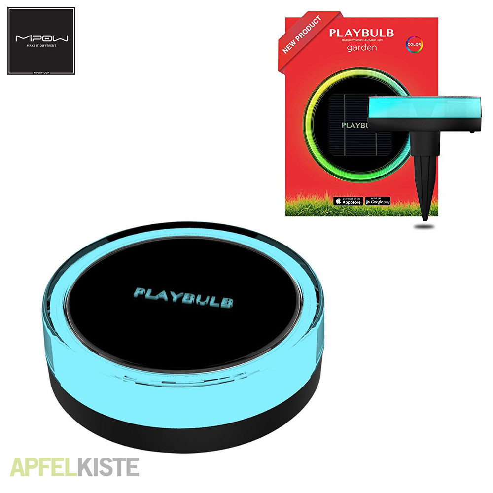 mipow playblub led gartenlicht app ios android. Black Bedroom Furniture Sets. Home Design Ideas