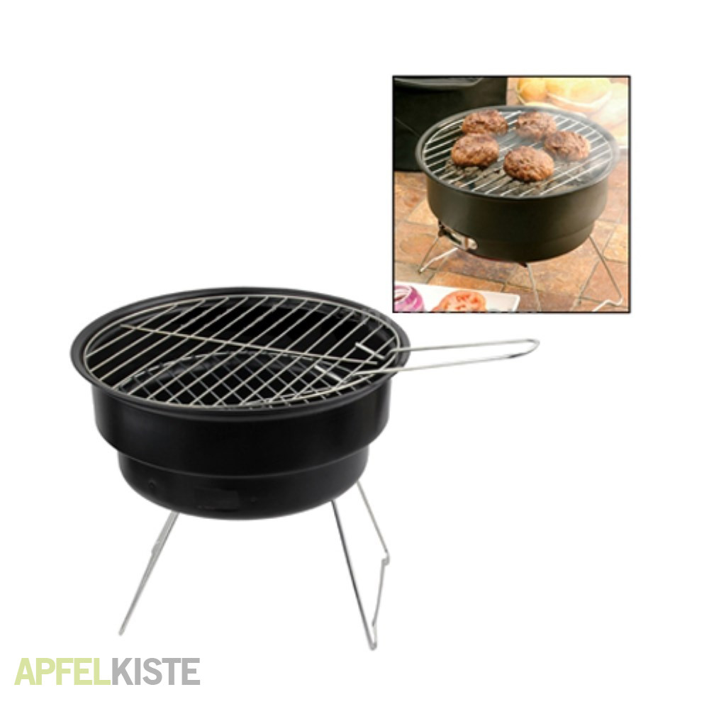 Mobiler holzkohle bbq outdoor grill for Grill holzkohle