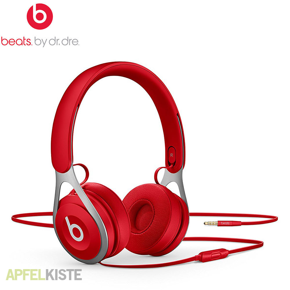 beats by dr dre ep kopfh rer ml9c2zm a rot. Black Bedroom Furniture Sets. Home Design Ideas
