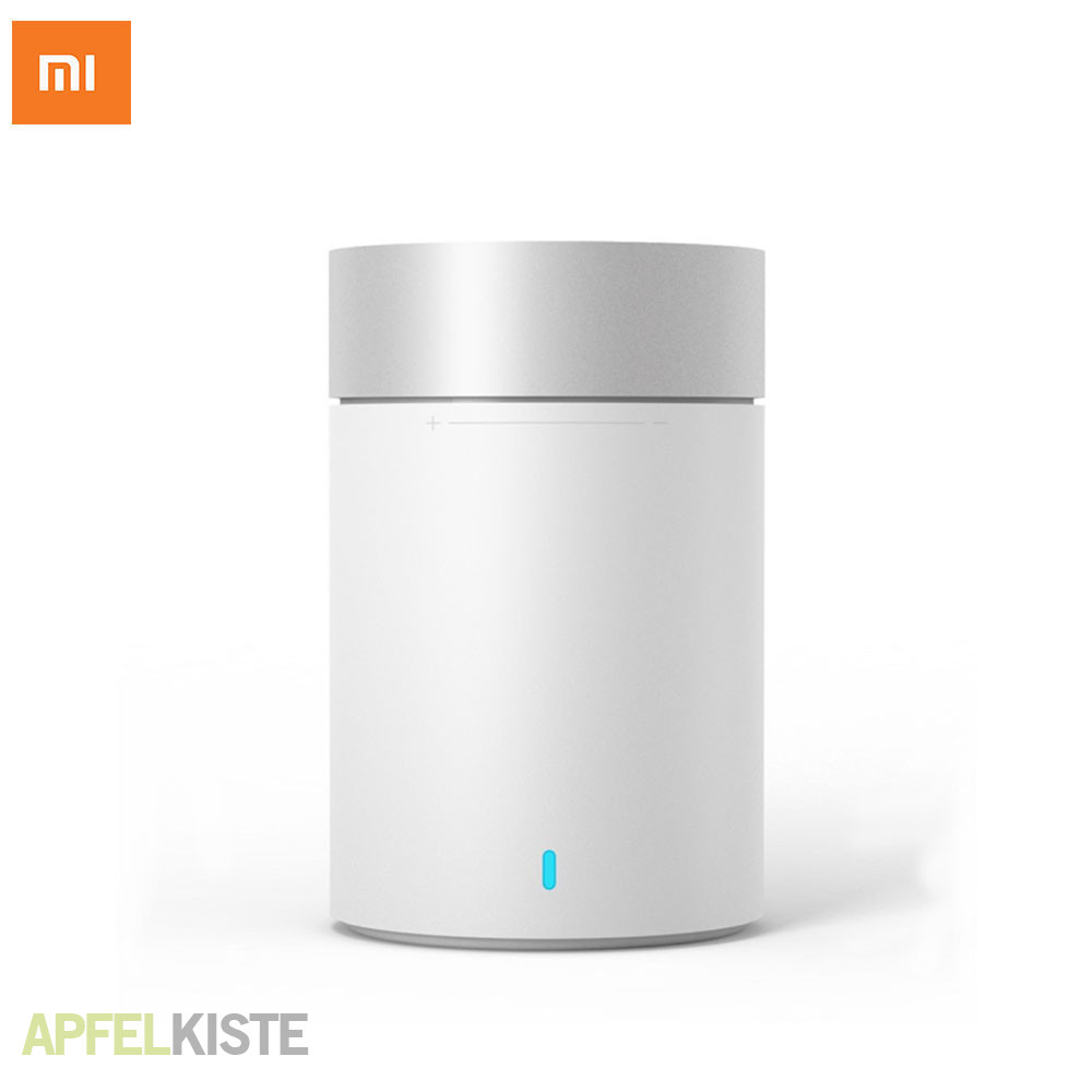 xiaomi round bluetooth lautsprecher weiss. Black Bedroom Furniture Sets. Home Design Ideas