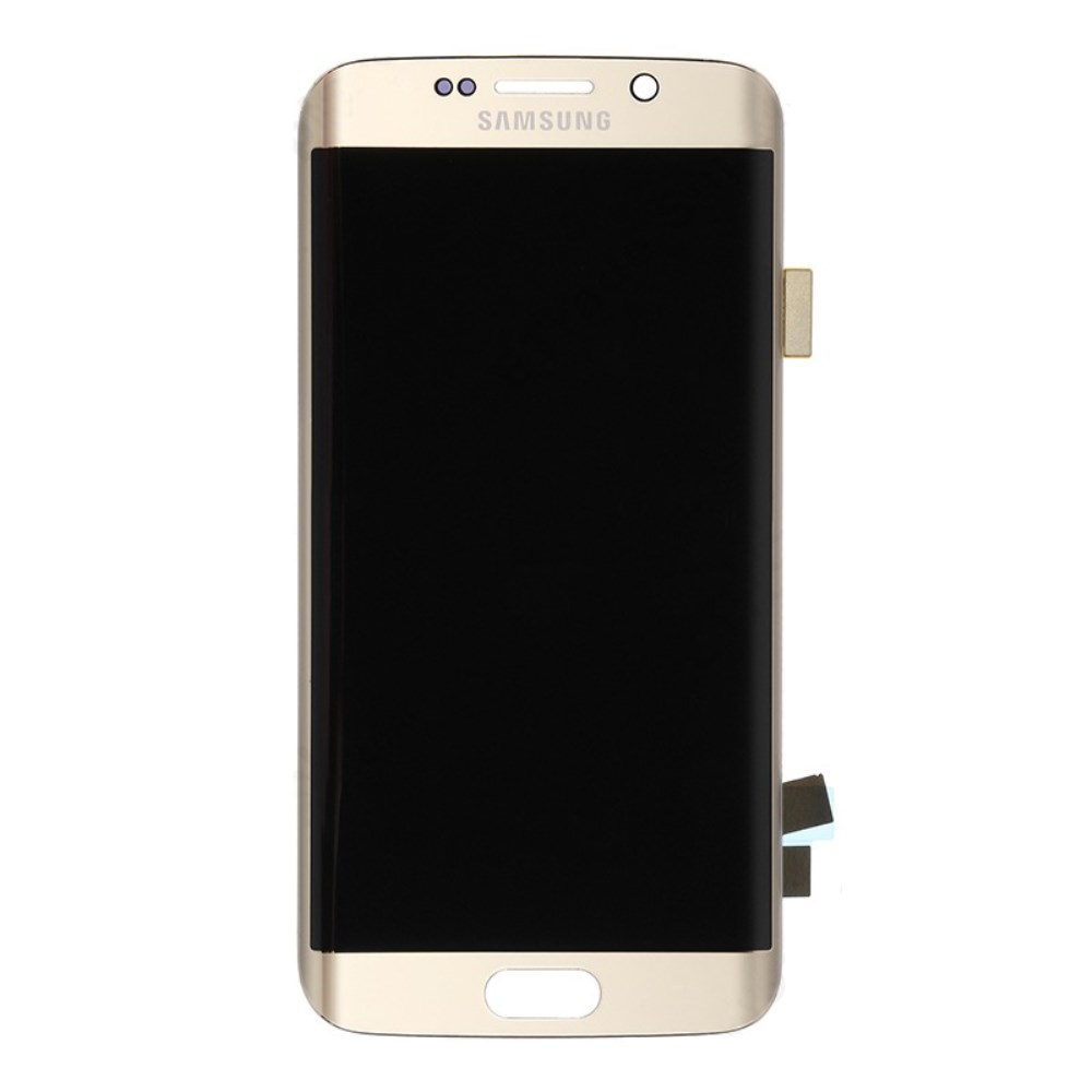 Samsung Galaxy S6 Edge Ersatzdisplay LCD + Digitizer Front (OEM) - Gold