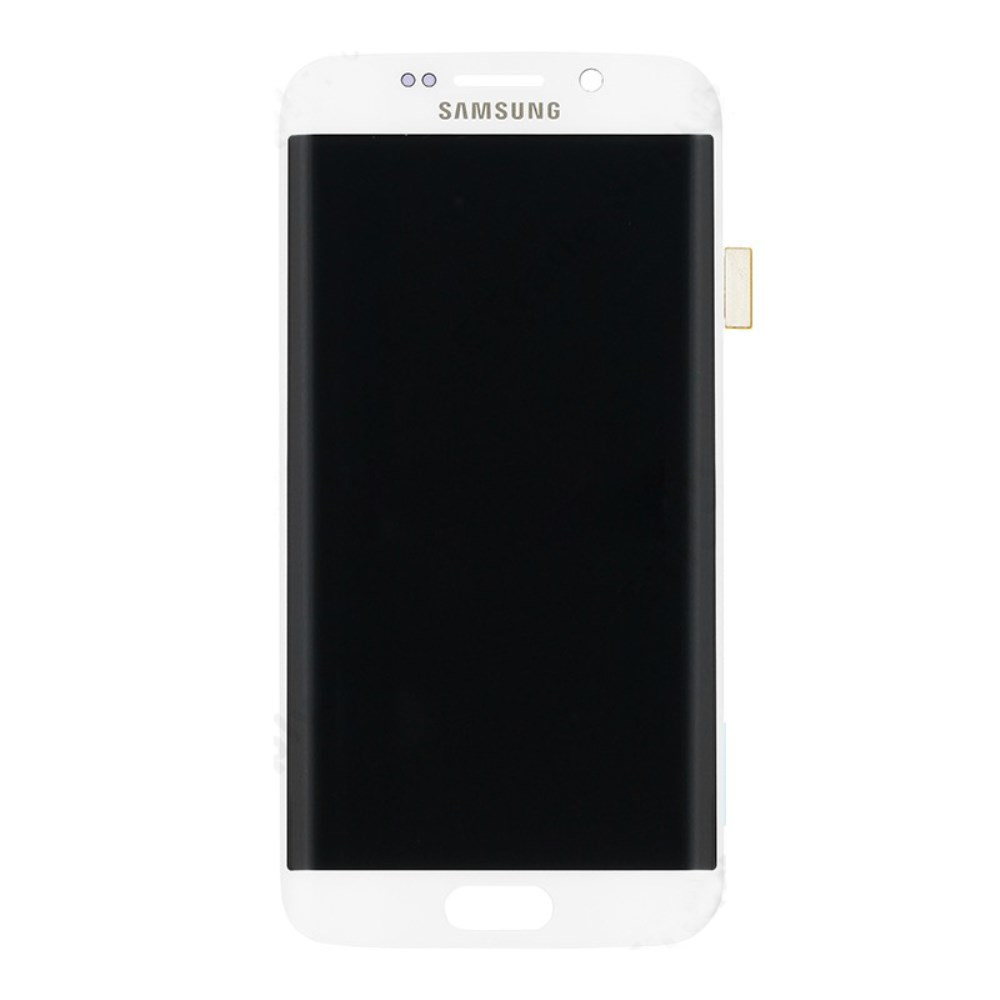 Samsung Galaxy S6 Edge Ersatzdisplay LCD + Digitizer Front (OEM) - Weiss