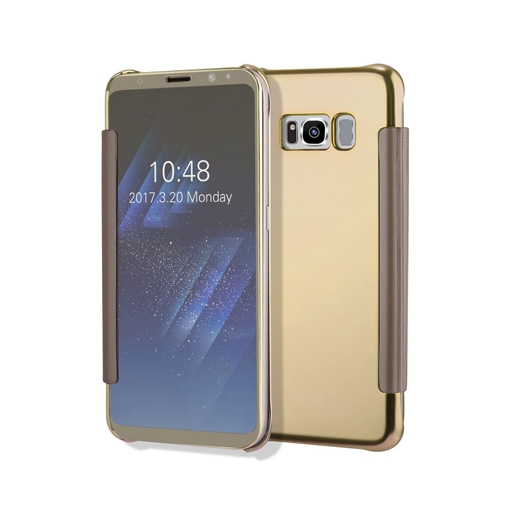Galaxy S8 Cases Hllen Taschen Online Kaufen Goospery Samsung Plus New Bumper X Case Gold Clear View Cover Flipcase Hlle Spiegel Look