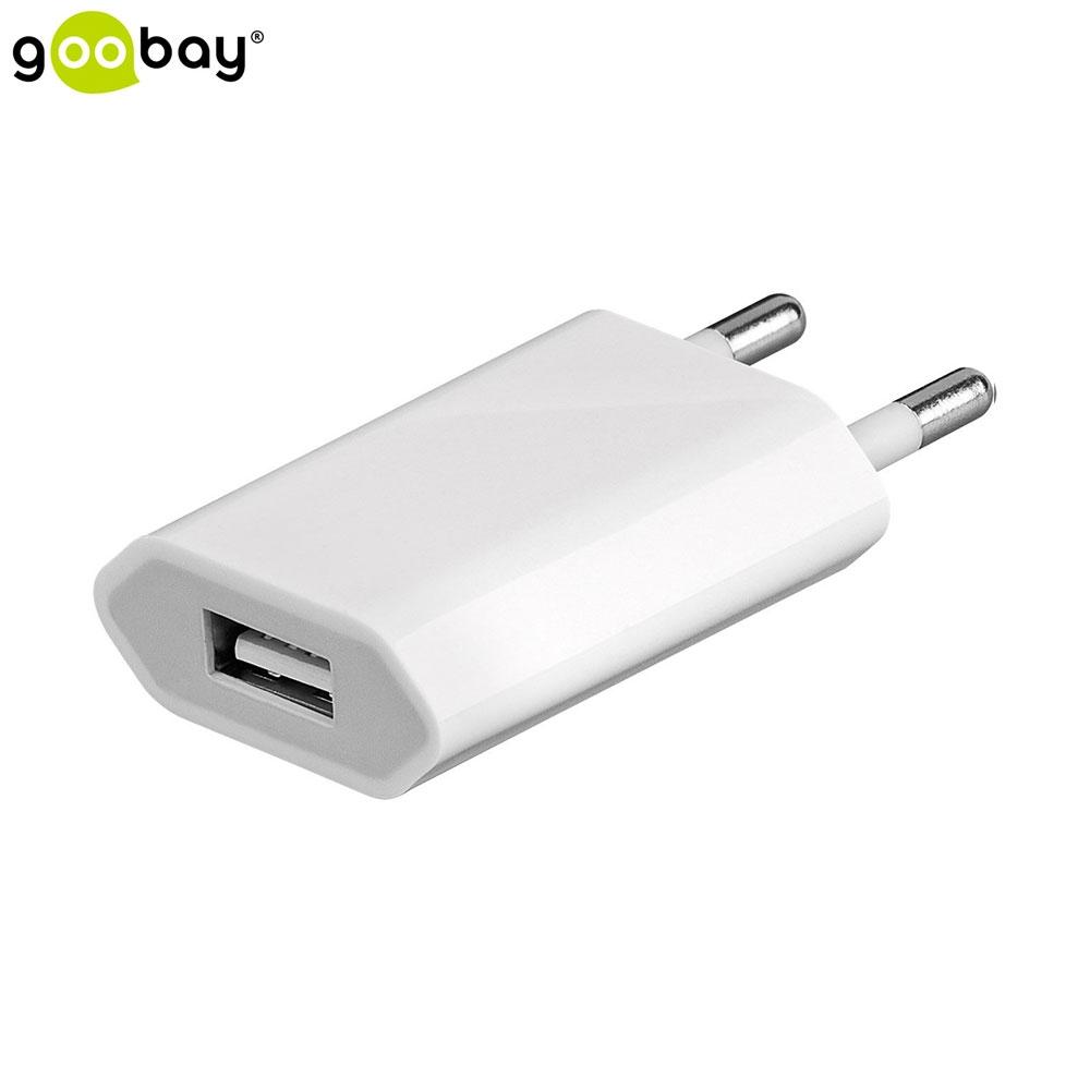 Goobay USB Charger Netzteil Ladegerät