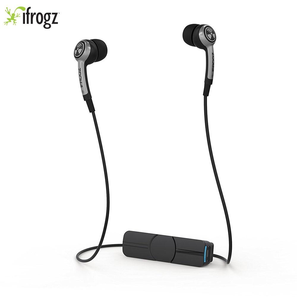 iFrogz Bluetooth Kopfhörer Silber Schwarz
