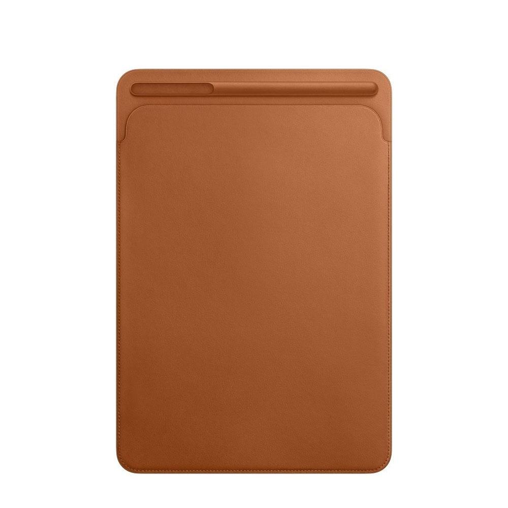 Image of iPad Pro 12.9 Leder Tasche mit Apple Pencil Halter - Braun