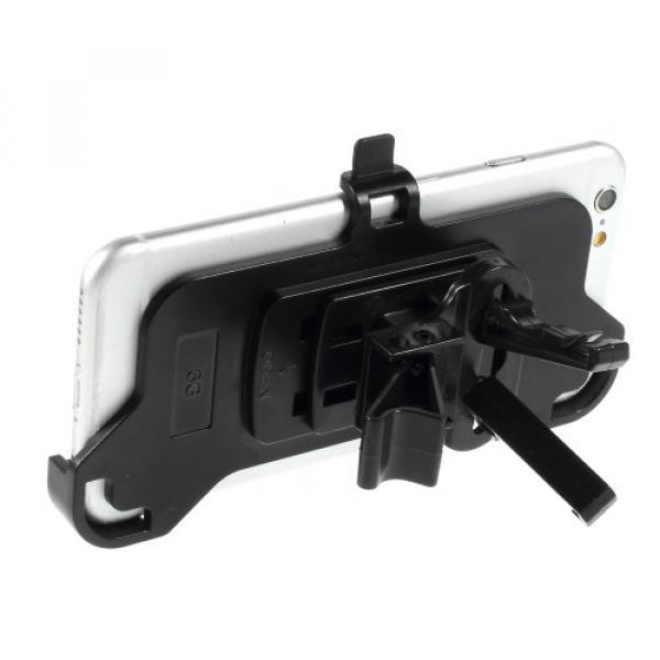 iPhone 6 / 6S KFZ Auto Halterung Lüftungsgitter Air Frame - Schwarz