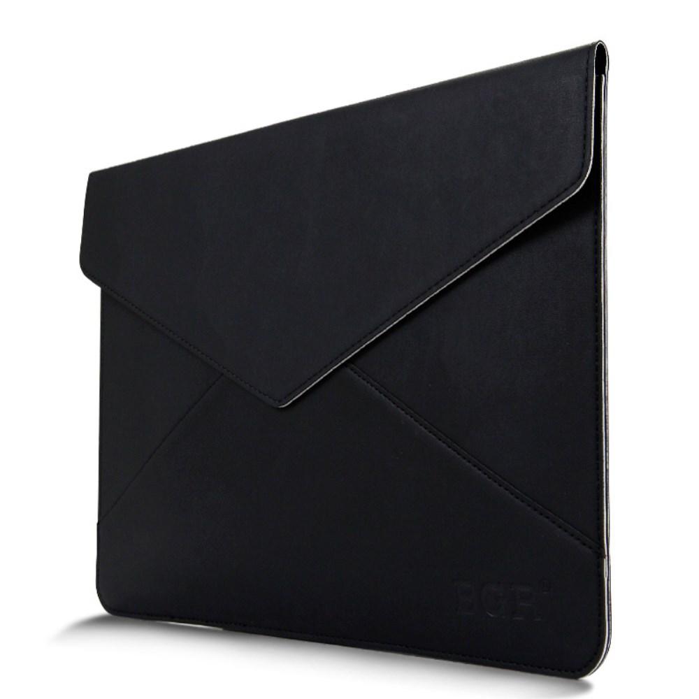 MacBook Air 11 Zoll Leder Tasche Sleeve Hülle - Schwarz