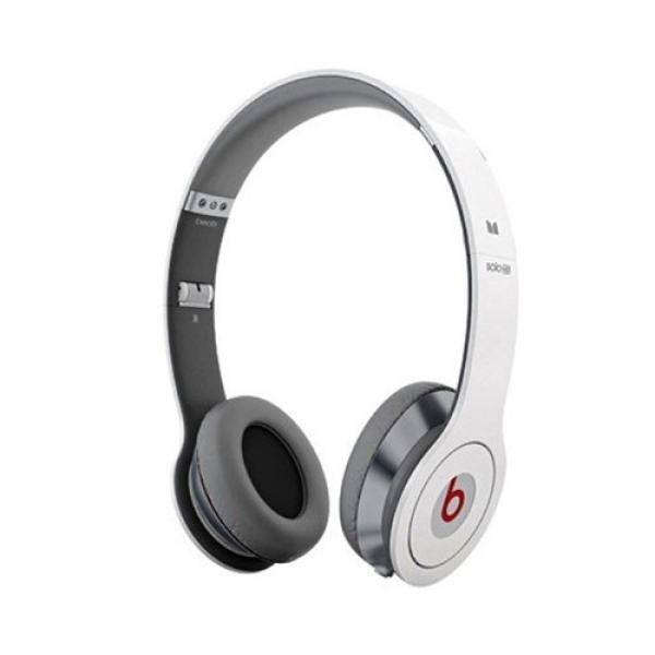 Monster Beats by Dr. Dre Solo HD On-Ear Stereo Kopfhörer mit ControlTalk (Bulk) - Weiss