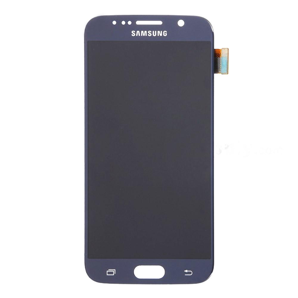 Samsung Galaxy S6 Ersatzdisplay LCD + Digitizer Front (OEM) - Dunkelblau