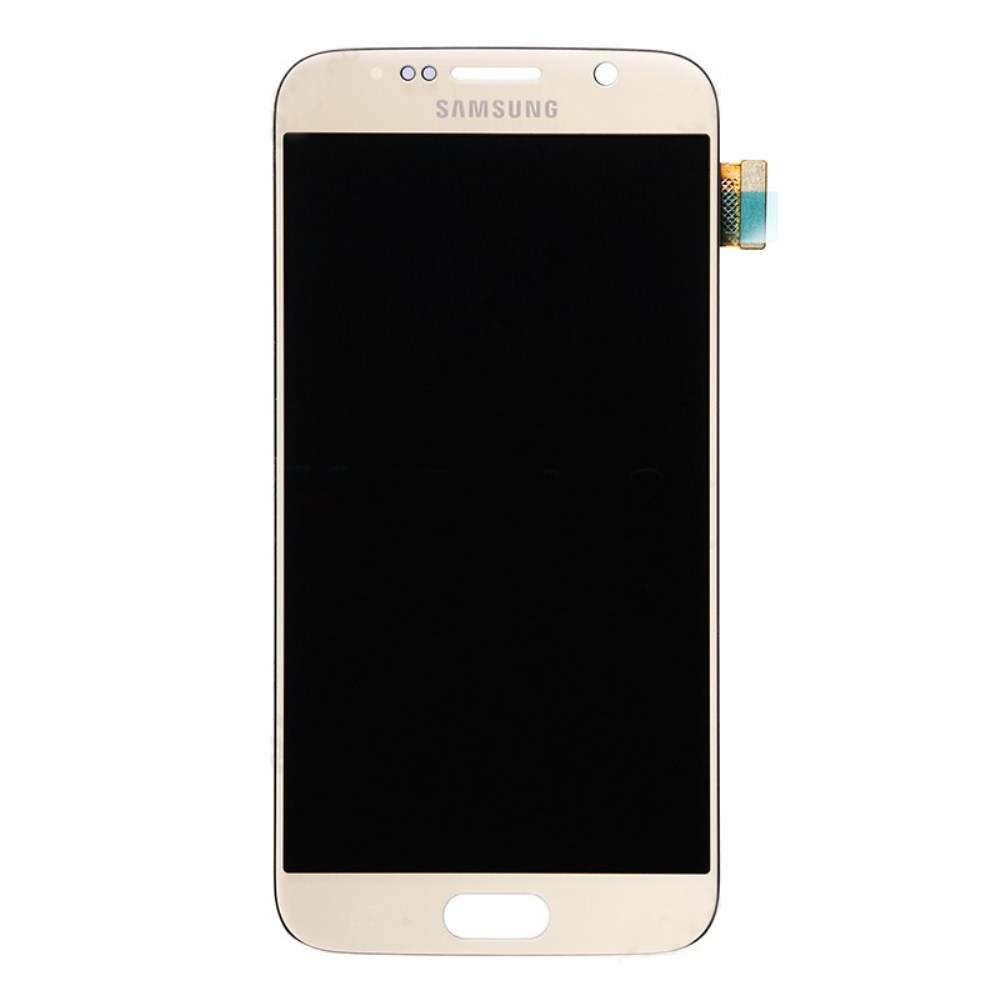 Samsung Galaxy S6 Ersatzdisplay LCD + Digitizer Front (OEM) - Gold