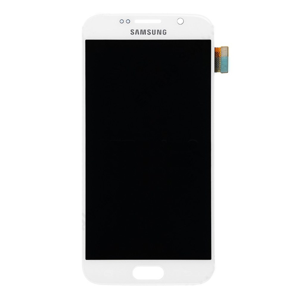 Samsung Galaxy S6 Ersatzdisplay LCD + Digitizer Front (OEM) - Weiss