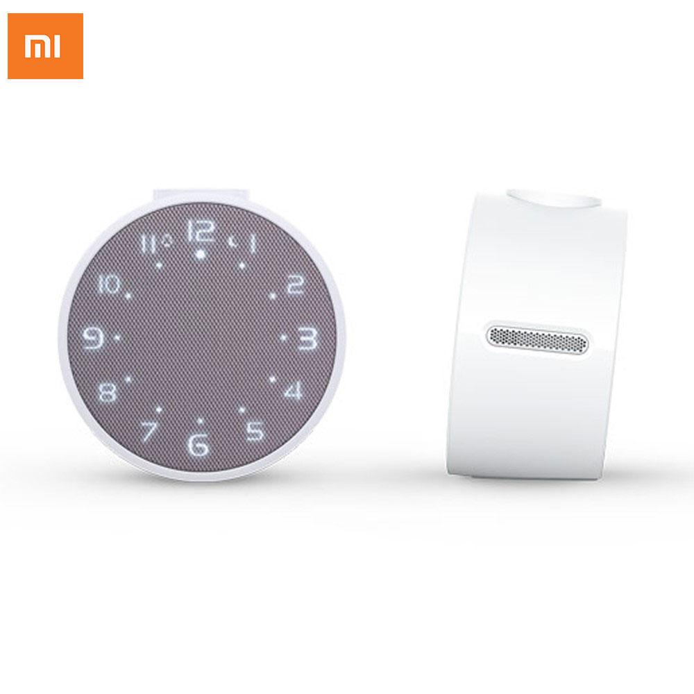 Xiaomi - Bluetooth 4.1 Lautsprecher LED Alarm Wecker Tischuhr - Weiss